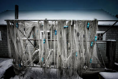 Photograph - Nets Of Fishtown, Michigan by Evie Carrier