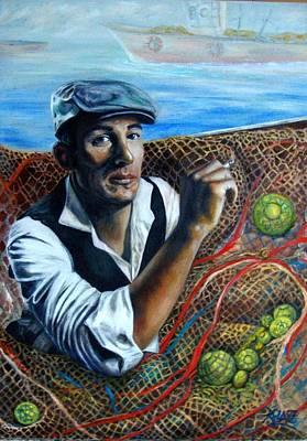 Wall Art - Painting - Nets by Ralf Glasz