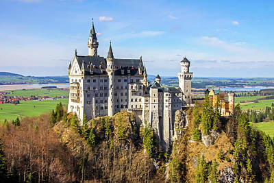 Photograph - Neuschwanstein Castle by Dawn Richards