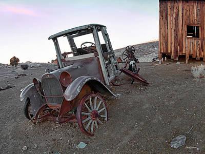 Photograph - Nevada History by Leland D Howard