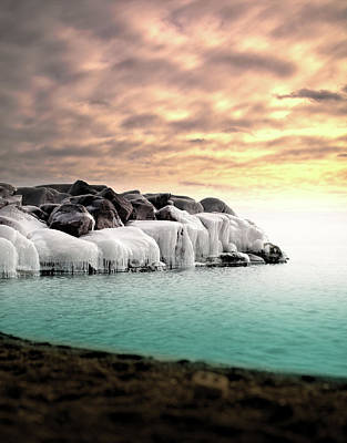 Photograph - Nevel Beach On A Winter Morning by Photography By Daniel Frome