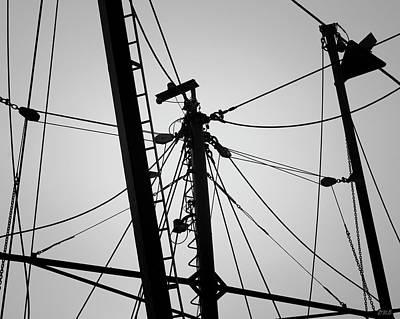Photograph - New Bedford Waterfront Xxxiii Bw by David Gordon