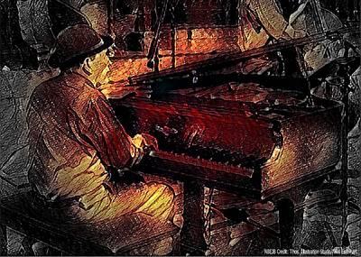 Mixed Media Royalty Free Images - New Black Eagle Jazz Band - Herb Gardner Royalty-Free Image by Marshall Thomas
