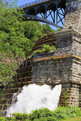 Photograph - New Croton Dam In Croton On Hudson New York by Louise Heusinkveld