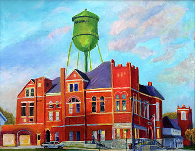Painting - New Day in Arcanum by Roger Snell
