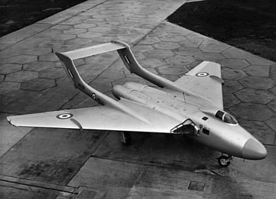 New De Havilland Art Print by Hulton Archive