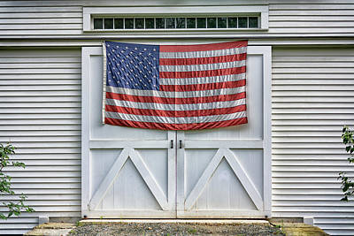 Photograph - New England Patriot by Rick Berk