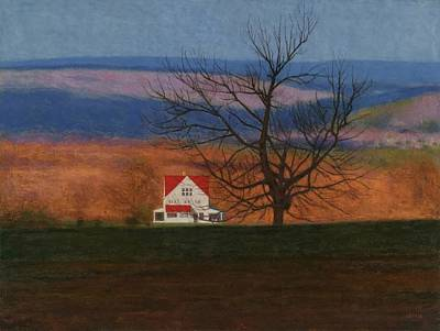 Pastel - New England View  by Jeff Gettis