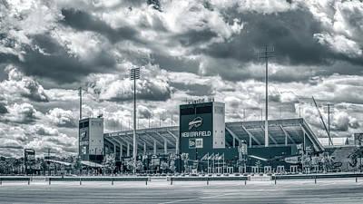 Photograph - New Era Stadium by Guy Whiteley