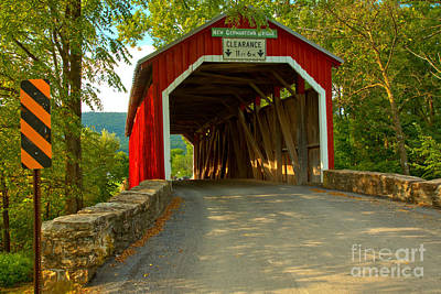 Photograph - New Germantown Bridge Under The Canpy by Adam Jewell