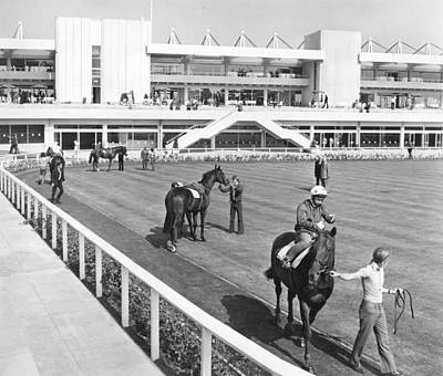 Photograph - New Grandstand by Central Press