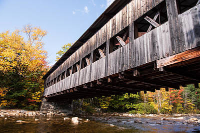 Firefighter Patents - New Hampshire Covered Bridge by Steven Kornfeld