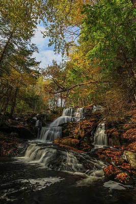 Photograph - New Hampshire Garwin Waterfall by Juergen Roth