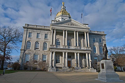 Photograph - New Hampshire State Capital by Paul Mangold