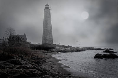 Photograph - New Haven Lighthouse by Chris Lord