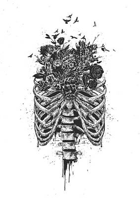 Surrealism Drawing - New Life by Balazs Solti