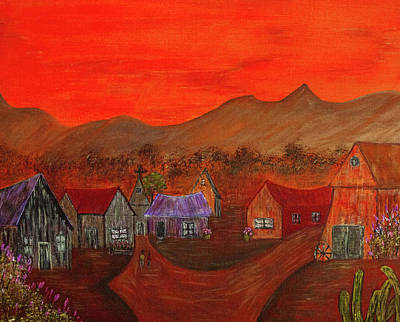 Painting - New Mexico Dreaming by Randy Sylvia