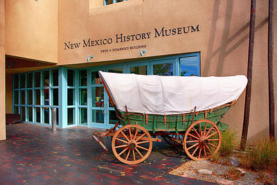 Photograph - New Mexico History Museum by Chris Smith