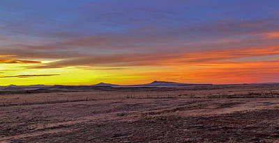 Art Print featuring the photograph New Mexico Sunrise by Rand