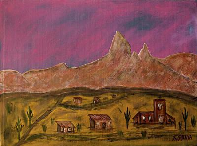 Painting - New Mexico True by Randy Sylvia