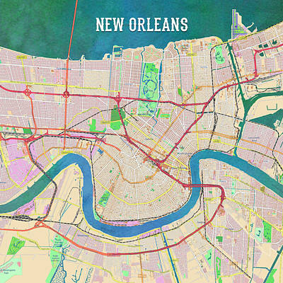 Digital Art - New Orleans by Gary Grayson