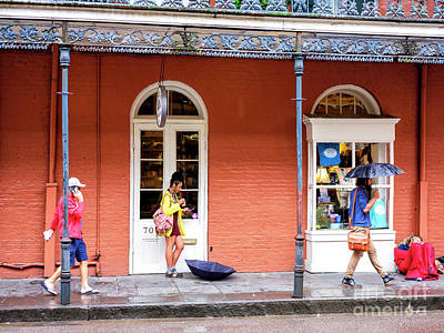 Photograph - New Orleans Morning Colors In The French Quarter by John Rizzuto