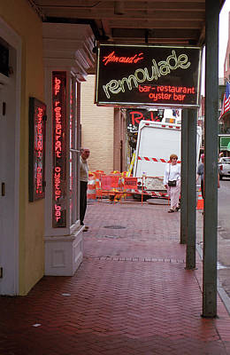 Photograph - New Orleans Restaurant 2004 #2 by Frank Romeo