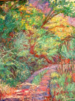 Painting - New River Trail by Kendall Kessler