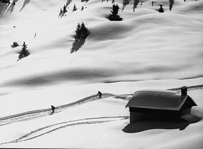 Photograph - New Ski Resort.  Photo By Loomis Dean by Loomis Dean