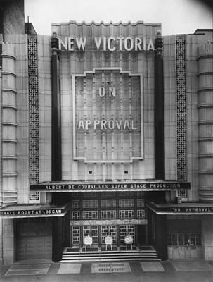 Photograph - New Victoria Cinema by Sasha