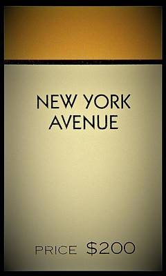 Photograph - New York Avenue by Rob Hans