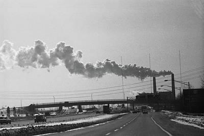 Photograph - New York City 1982 Bw Series - #11 by Frank Romeo