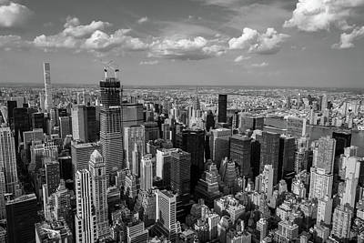Photograph - New York City Empire State Building by Crystal Wightman