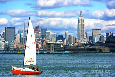 Photograph - New York City Harbor View by John Rizzuto