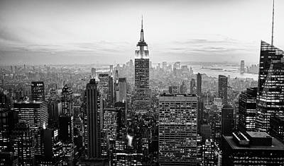 Cityscapes Photograph - New York City by Randy Le'moine