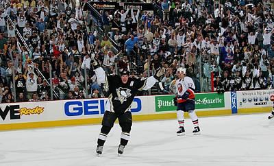 Photograph - New York Islanders V Pittsburgh Penguins by Bruce Bennett