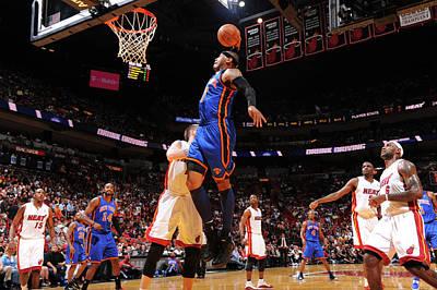 Photograph - New York Knicks V Miami Heat by Jesse D. Garrabrant