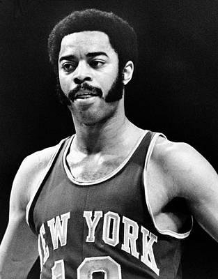 Photograph - New York Knicks Vs. Milwaukee Bucks by Vernon Biever