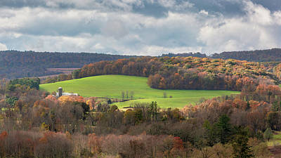 Photograph - New York Landscape by Bill Wakeley