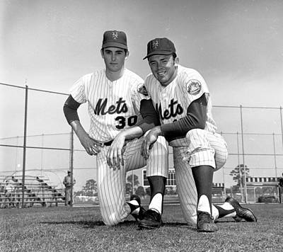 Photograph - New York Mets Texas Battery Nolan Ryan by New York Daily News Archive