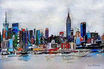 Digital Art - New York, New York by Pennie McCracken