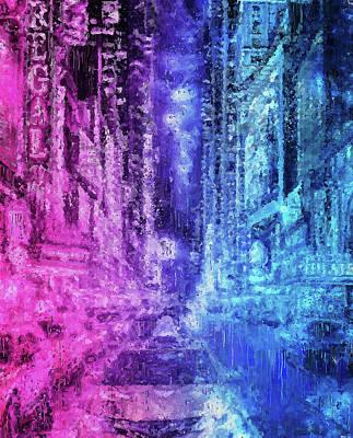 Painting - New York Panorama - 35 by Andrea Mazzocchetti
