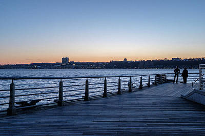 Photograph - New York Pier Sunset by Doug Ash