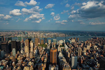 Photograph - New York Skyline Empire State by Crystal Wightman