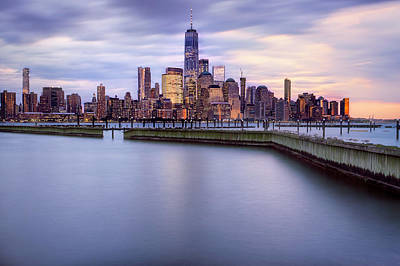 Photograph - New York Skyline by Jacqui Boonstra