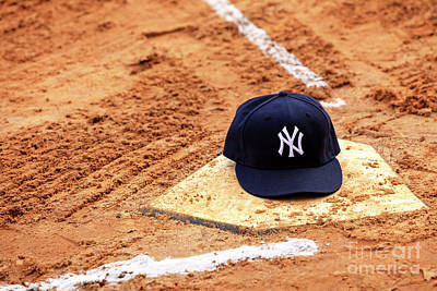 Photograph - New York Yankees Home Color by John Rizzuto