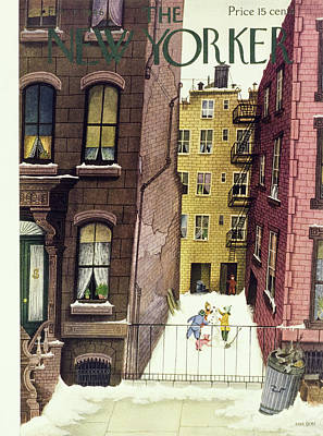 Painting - New Yorker February 2nd 1946 by Edna Eicke