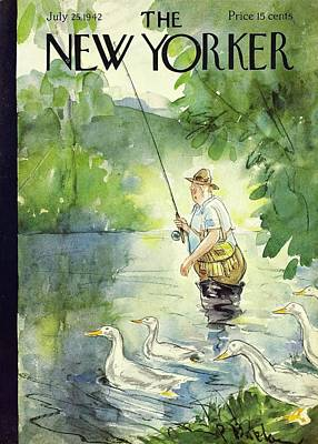 Painting - New Yorker July 25th 1942 by Perry Barlow