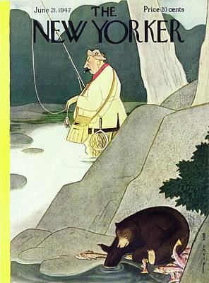 Painting - New Yorker June 21st 1947 by Rea Irvin