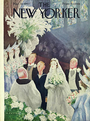 Painting - New Yorker March 20th 1943 by William Cotton